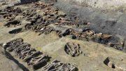 El descubrimiento de restos similares es un indicio de que allí se enterró a personas que murieron en una epidemia. La Tumba Umeda, uno de siete cementerios históricos en esta ajetreada ciudad mercantil, fue reabierta como parte de un proyecto de construcción cerca de una estación ferroviaria central.