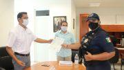 Actualmente se encuentran cursando sus estudios de bachillerato otros 50 hombres y mujeres, adscritos a las fuerzas estatales de seguridad.