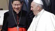 Luis Antonio Tagle, cardenal filipino y uno de los principales colaboradores del papa Francisco, dio positivo de coronavirus, informó este viernes el Vaticano.