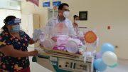 Tras 33 días de luchar contra el coronavirus, la pequeña de apenas 10 meses de edad por fin pudo reencontrarse con su madre hoy.