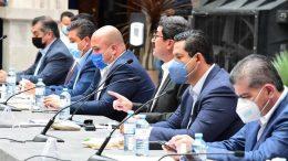Juan Manuel Carreras, mandatario de San Luis Potosí y presidente de la Conago, convocó a todos los mandatarios estatales para tener una reunión la próxima semana con el secretario de Hacienda, Arturo Herrera, y establecer una ruta de trabajo para revisar el pacto fiscal.