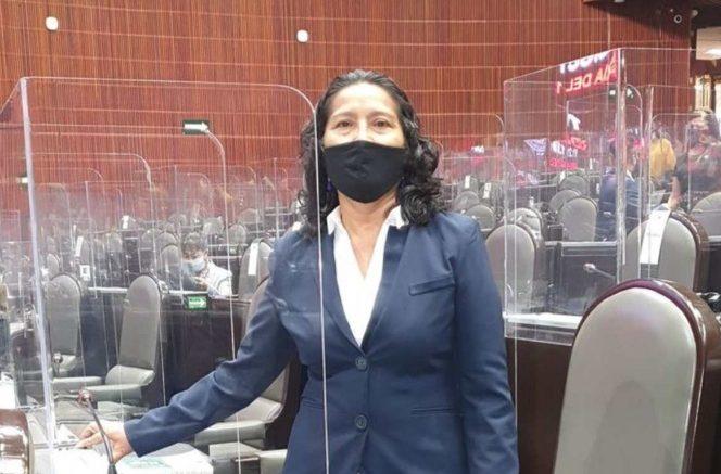 La diputada por Morena, Abelina López Rodríguez, confesó en la tribuna del pleno de la Cámara de Diputados haber sido corrupta en el pasado.