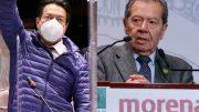 El INE dio a conocer que Porfirio Muñoz Ledo y Mario Delgado empataron votación en primer lugar para ocupar la presidencia de Morena; ya que sus intervalos de confianza no permiten determinar un ganador contundente.