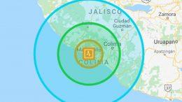 El movimiento telúrico se registró a las 23:43:31 horas del jueves 08 de octubre, con una magnitud de 4.3 grados.