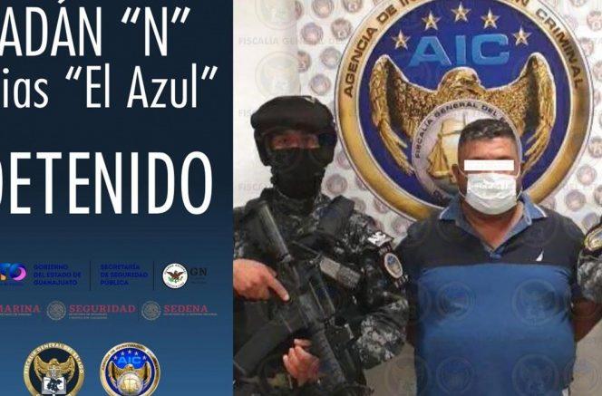 Autoridades de Guanajuato confirmaron esta noche la detención de Adan Ochoa, compadre de José Antonio Yépez, 'El Marro'