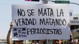 La Comisión Nacional de los Derechos Humanos (CNDH) señaló que en las últimas dos décadas se han registrado 165 homicidios de periodistas en México.