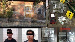 En acciones de combate al narcomenudeo realizado en los municipios de Cuauhtémoc y Tecomán.