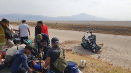 Viajaban de Guanajuato a Manzanillo en una camioneta pickup modelo atrasado y en el kilómetro 38 de la autopista ocurrió el accidente.