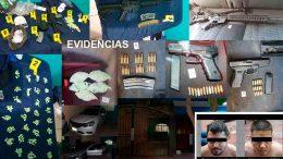 Además detuvieron a tres personas (una menor de edad) e incautaron una vivienda en Tecomán; durante cateo.