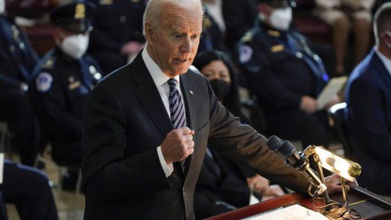 Actualmente hay más de 2 mil 500 soldados estadounidenses en el país, trabajando junto a unas 7 mil fuerzas aliadas. Biden dirá que no está dispuesto a pasar la responsabilidad a otro presidente de EU.