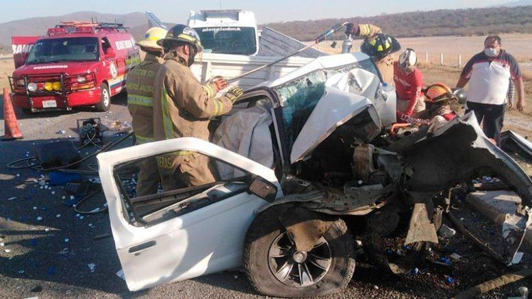 Una llamada a emergencias alertó a Protección Civil y Cruz Roja de Jalisco, solicitando su apoyo para auxiliar a los lesionados