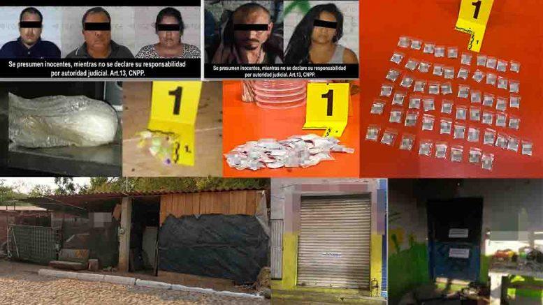 Se realizaron tres cateos en los municipios de Manzanillo, Tecomán e Ixtlahuacán
