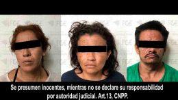 Los imputados ingresaron a un inmueble deshabitado en el centro de Tecolapa, de donde sustraían objetos, fueron encontrados en flagrante delito por los policías.