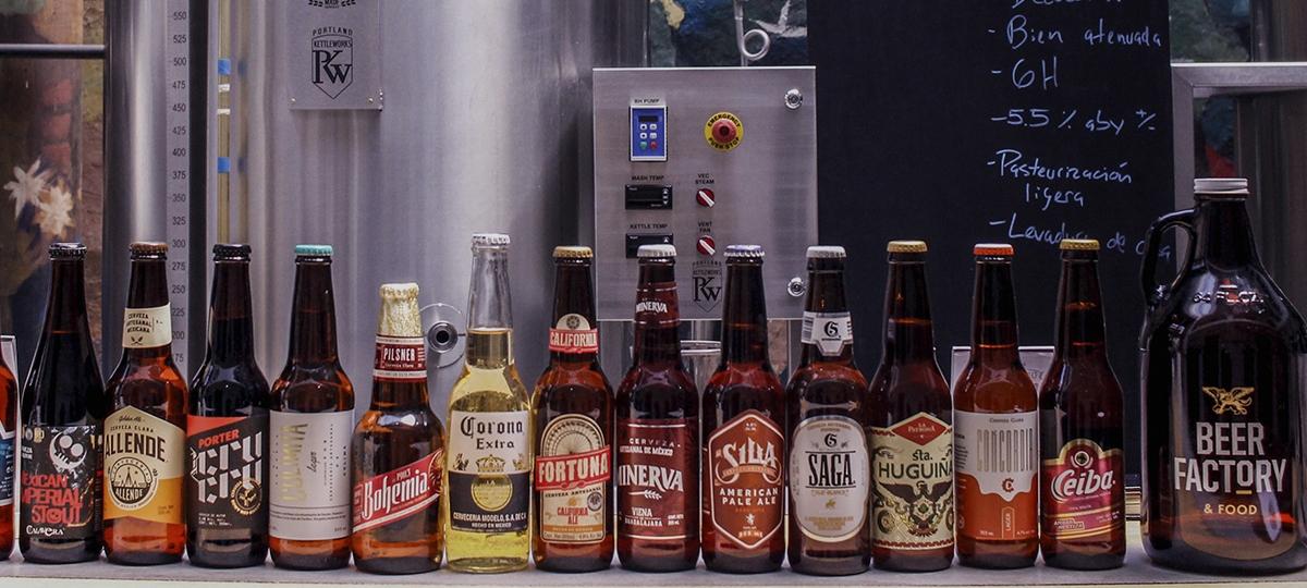 Cerveza, la que más se exporta en México